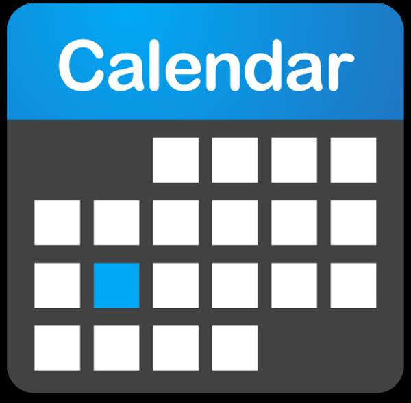Calendar & Key Dates