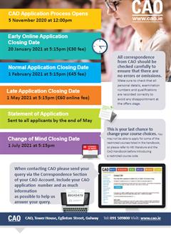 CAO Application Information